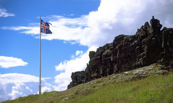 Lögberg, Thingvellir