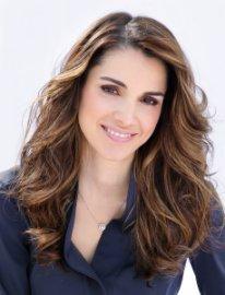 Königin Rania von Jordanien.