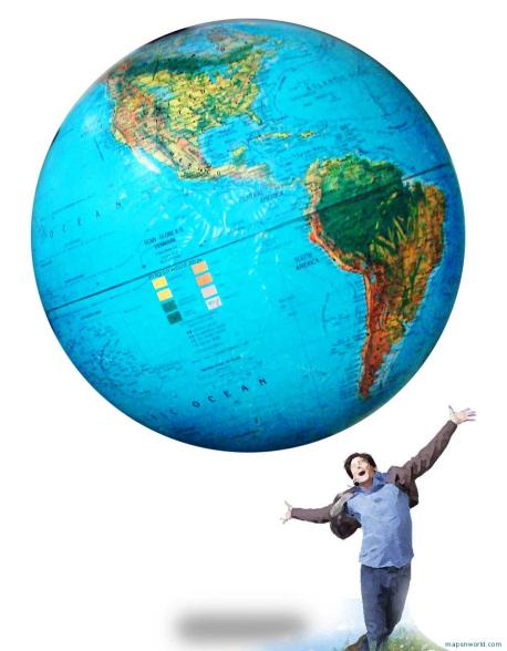 Georges letzte Hoffnung: Mittel- und Südamerika.