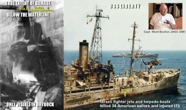 USS Liberty Ward Boston