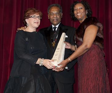 Karen Kalish, die Gründerin von Cultural Leadership bei der Verleihung des Martin-Luther-King-Preises