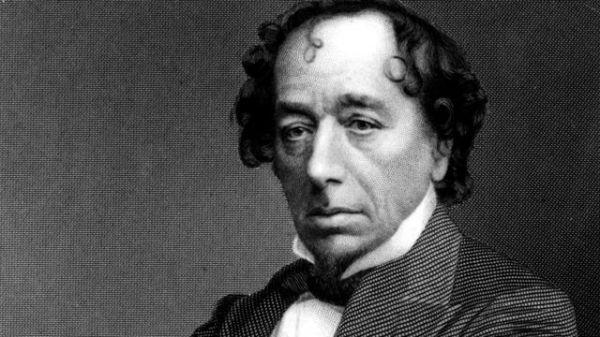 Benjamin Disraeli, der jüdische Premierminister Großbritanniens im Jahr 1868 sowie von 1874 - 1880 (Bild vom Übersetzer eingefügt).