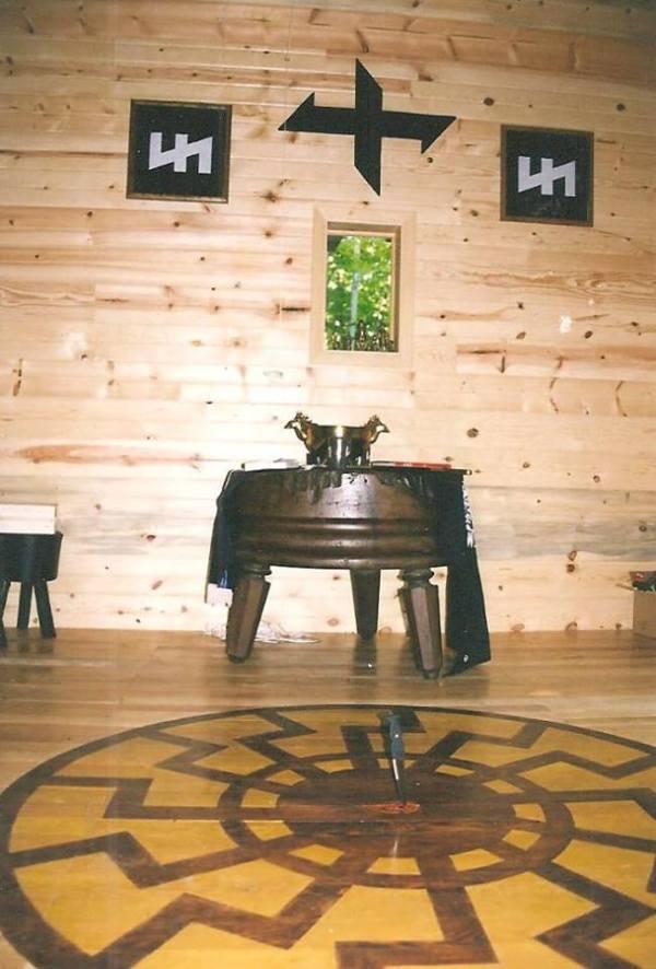 Robert Taylors Geist-Hof, Washington Island, Wisonsin.