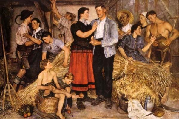 """""""Bäuerliche Trilogie: Das Füllhorn"""", 1941"""