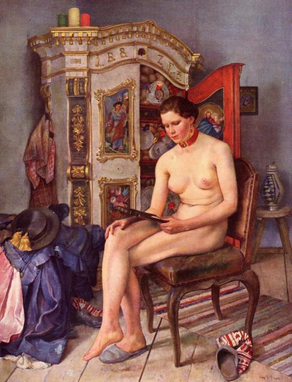 """""""Eitelkeit"""", 1940 (Modell: Annerl Meierhanser)"""