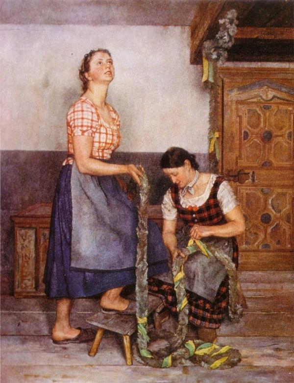 """""""Bäuerliche Trilogie: Die Mägde"""", 1941"""