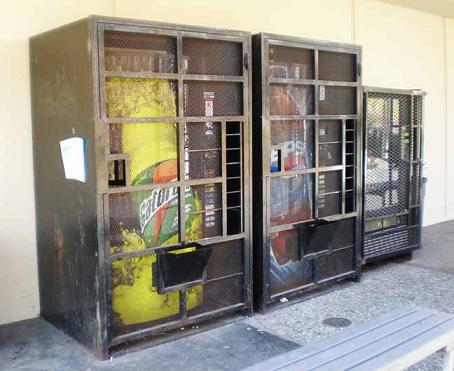 Untrügliches Zeichen schwarzer Schulen: Cola-Käfige