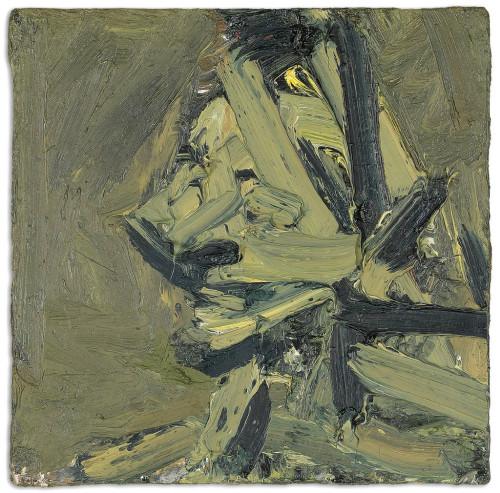 """""""Kopf von Paula Eyles"""" von Frank Auerbach, 1972"""