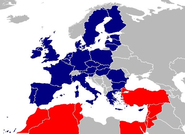 euromed-karte