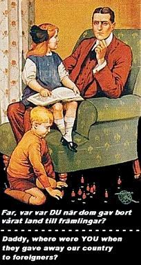 """""""Vater, wo warst DU, als sie unser Land an Fremdlinge verschenkten?"""""""