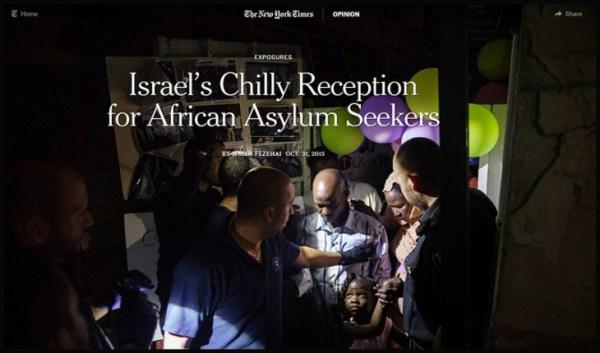 Israels frostiger Empfang für Asylwerber