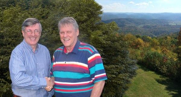 Will Williams (rechts) und Kevin Alfred Strom.