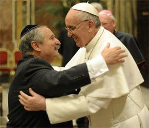 papst-franziskus-und-rabbi