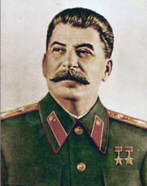 Josef Stalin (geb. Iosseb Bessarionis dse Dschughaschwili)