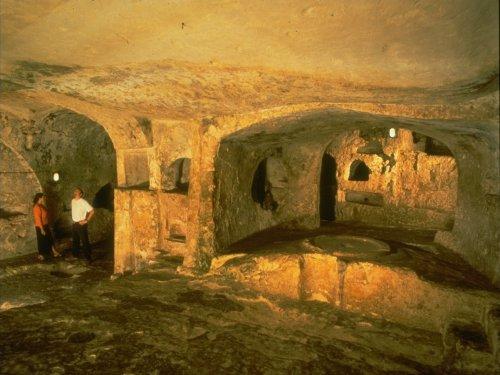 Auf Malta machte Paulus wegen eines Schiffbruchs Station: In den Katakomben von Rabat soll er gelehrt und geheilt haben.