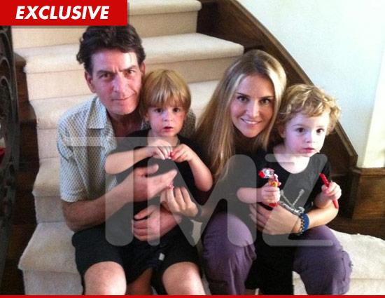 Die Familie von Charlie Sheen