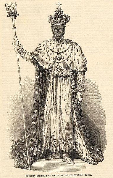 Kaiser Soulouque von Haiti, ca. 1859