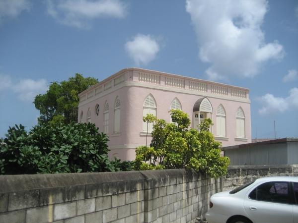 Ursprünglich 1654 erbaut, nahm die Nidhe-Israel-Synagoge jüdische Flüchtlinge aus Niederländisch-Brasilien auf.