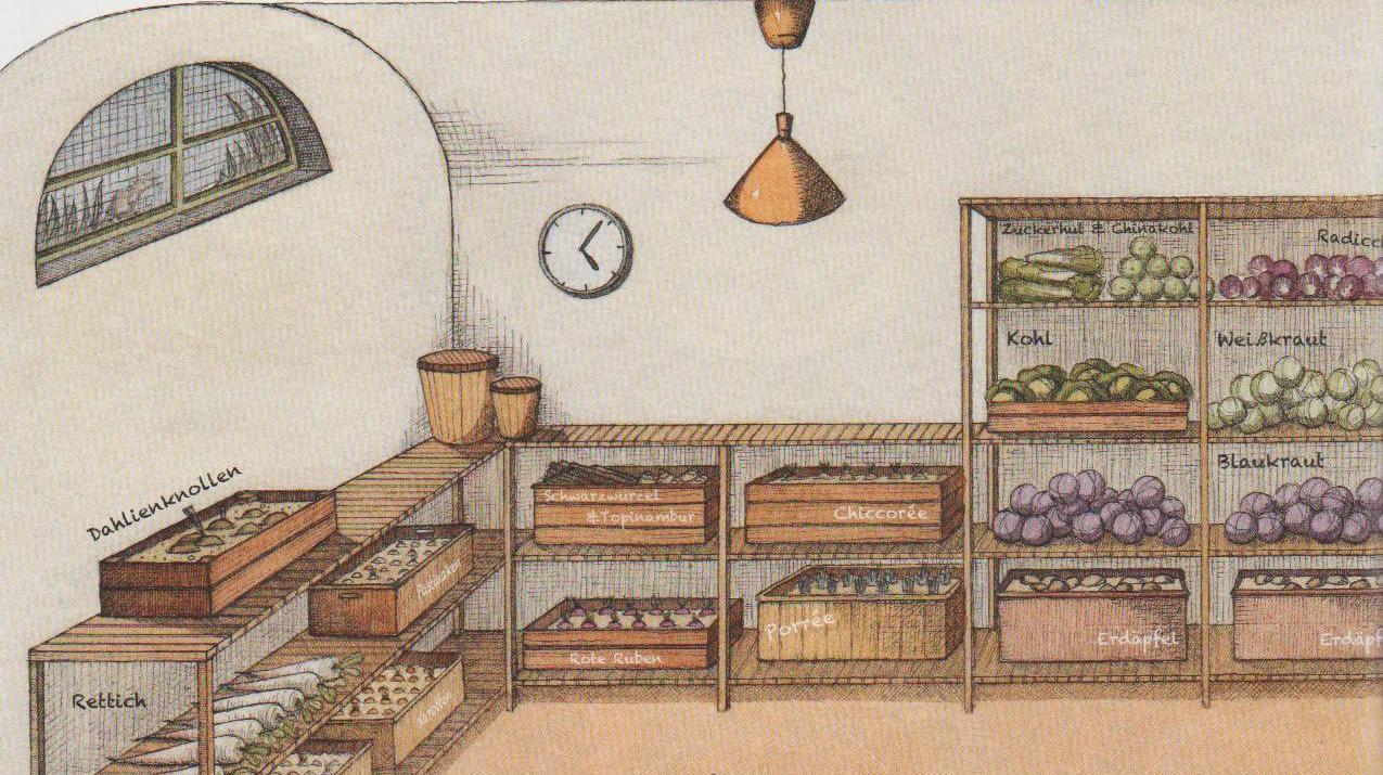 ab in den keller einlagern von obst und gem se morgenwacht. Black Bedroom Furniture Sets. Home Design Ideas