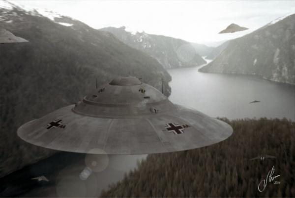 Haunebu III Fjordflug