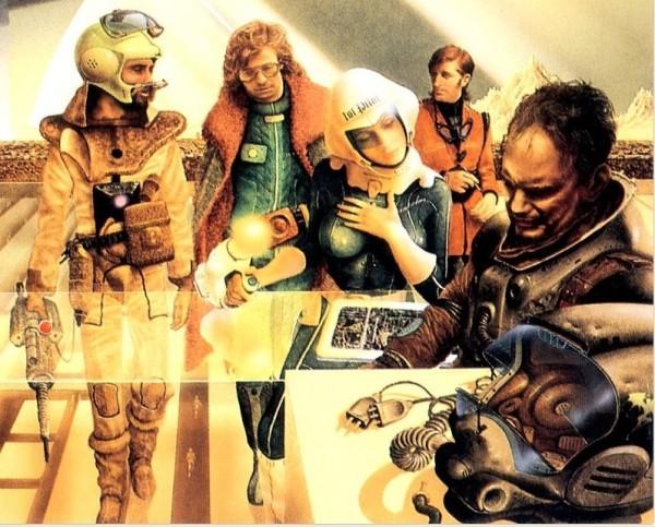 18c Jim Burns mechanismo spaceport